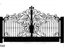 Small Picture Aliexpresscom Buy door garden iron gates iron garden gates for