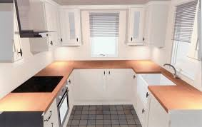 Designs For U Shaped Kitchens U Shaped Kitchen With Island Layout Desk Design Small U Shaped