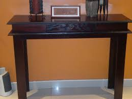 Image Of Brown Entry Hall Tables
