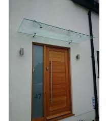 frameless glass canopies