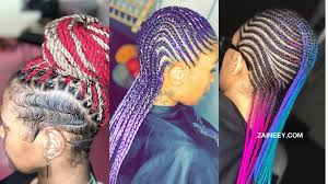 The braids of ghana are lovely and will keep on trending in 2021. Yarn Braid Hairstyles 2021 You Won T Believe These Braids Are Made With Yarn Zaineey S Blog
