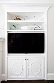 Tv Stands For Lcd Tvs Best 25 Built In Tv Cabinet Ideas On Pinterest Built In Tv Wall
