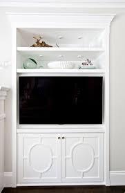 tv cabinet with doors. san clemente home tour with shea mcgee. cabinet doorsbuilt in tv doors