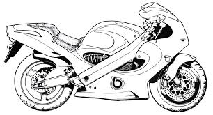 Spiderman on a powerful motorcycle. Motorcycle Coloring Pages For Kids Free Printable