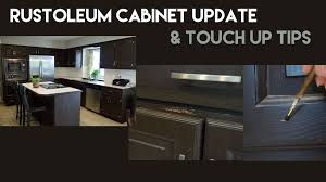 Rustoleum Kitchen Cabinet Rustoleum Kitchen Cabinet Update Touch Up Tips Youtube