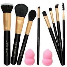 make up brushes set on best 11pcs pro makeup brush kit with