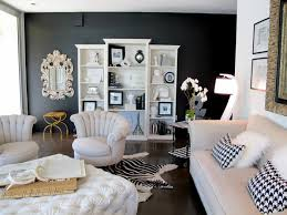 wall color for black furniture. wall color black white furniture living room accent fur carpet for