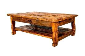 old wood coffee table wooden tables rustic fashioned white