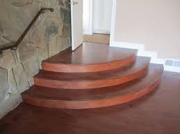 installing laminate flooring around curved stairs designs