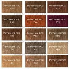 Schwarzkopf Indola Colour Chart Indola Permanent Caring Color