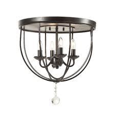 modern chandelier orb lights flush mount metal ceiling fixture