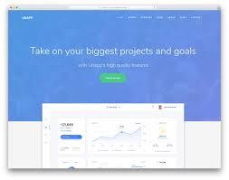 Unapp Free Business App Website Template Colorlib