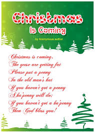 christmas poems for kids christmas