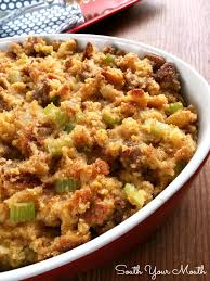 south your mouthsouthern cornbread dressing with sausage