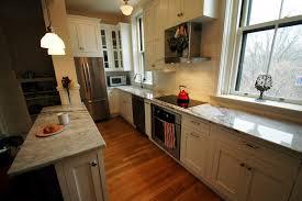 Long Narrow Kitchen Galley Kitchen Remodel Wwwplentus
