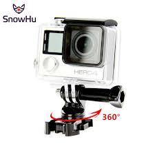 <b>SnowHu</b> 40M Diving Touchable Waterproof Case for <b>Xiaomi Yi</b> 4K ...