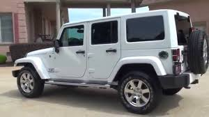 jeep wrangler unlimited white. Contemporary Wrangler HD VIDEO 2013 JEEP WRANGLER UNLIMITED SAHARA 4X4 USED WHITE NAV FOR SALE  SEE WWW SUNSETMOTORS COM  YouTube Throughout Jeep Wrangler Unlimited White 1