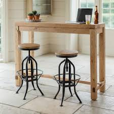 kitchen bar tables sets. a tall bar table handcrafted from reclaimed pine in contemporary design. ideal as kitchen tables sets
