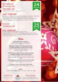 Christmas Program Sample 2015 Christmas Activity Programme Sample Hotel Benalmadena Malaga