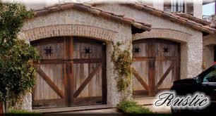 rustic garage doorsWood Garage Doors Custom Wood Garage Doors Entry and Interior