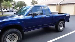 1994 Toyota Pickup 22RE Ext Cab 4WD Restore II - YouTube
