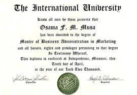 Sample Degree Certificates Of Universities Masters Degree Certificate Template Sample Download Free