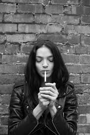 Mariacarla Boscono Toasts BLK DNM Portraits in NY Smoking and.