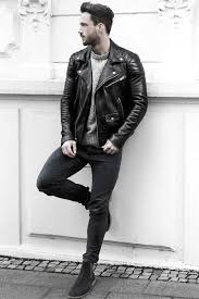 how to wear a leather jacket leather jacket outfits outfits for men