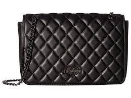 LOVE Moschino Metallic Quilted Shoulder Bag at Luxury.Zappos.com & LOVE Moschino Metallic Quilted Shoulder Bag Adamdwight.com