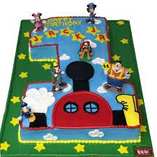1790 1st Birthday Mickey Mouse Club House Abc Cake Shop Bakery