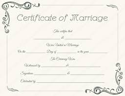 Microsoft Certificate Templates Free Free Marriage Certificate Template Microsoft Word Eavdti
