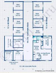 Best 25 Barn With Living Quarters Ideas On Pinterest  Barn Barn Plans With Living Quarters Floor Plans