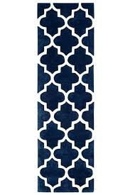 arabesque blue runner
