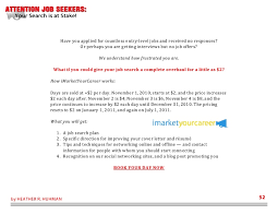 How To Improve Your Resume Simple Attention Job Seekers Your Search Is At Stake 44 Steps To Becoming A