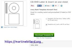 Avery Dvd Label Template Word Word Cd Label Template Memorex Avery Cd Dvd Template Made By