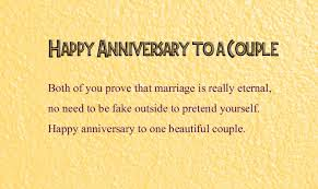 Beautiful Married Couple Quotes Best of Happy Wedding Anniversary Wishes To A Couple Wishes24Lover