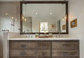 bathroom lighting above mirror. Portland Interior Designer Provides Good Example Of Pendant Lights In Bathroom Design Lighting Above Mirror
