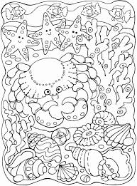 Dolly loves seashells and so wants to look at the beautiful details of this one, but finds it is not colored! Coloring Pages Of The Ocean Luxury 101 Coloring Page 2 Of 17 Meriwer Coloring