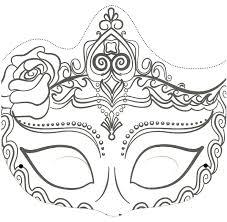 Masque Pour Enfant Une Belle Princesse Imprimer Et Colorier A