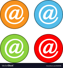 Email Buttons Email Sign Button Set