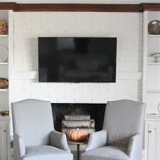 fireplace top tv over fireplace mantel decorating idea inexpensive photo to home design tv over