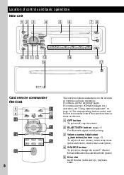 i need wiring diagram for a sony mex bt sony mexbt support operating instructions page 8