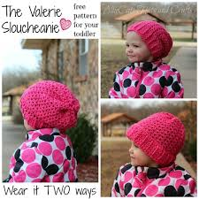 Free Crochet Hat Patterns For Toddlers Simple Valerie A Free Toddler Crochet Hat Pattern Cre48tion Crochet