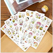 decorative office supplies.  Office 6sheetspack Korea Fashion Toy Miss Stickers Scrapbook Diary Deco Stickers Decorative Items With Office Supplies E