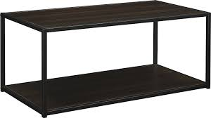 Amazon.com: Altra Canton Coffee Table with Metal Frame, Espresso: Kitchen &  Dining