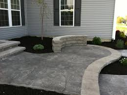 stamped concrete patio cost calculator. Stamped Concrete Walkway Decorative Patio Cost Calculator