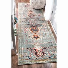 2 x 6 rug fresh nuloom distressed traditional vintage medallion grey runner rug 2 6