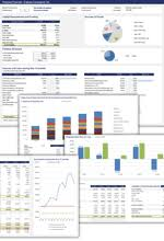 Excel Financial Statement Free Financial Statement Templates Spreadsheet123