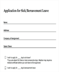 Sample Vacation Request Form Leave Request Email Template