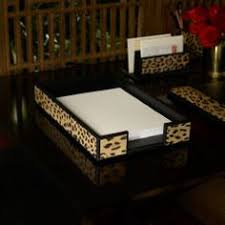 Letter Tray Decorative LeopardPrint Paper Tray Ralph lauren Pinterest Paper tray 48